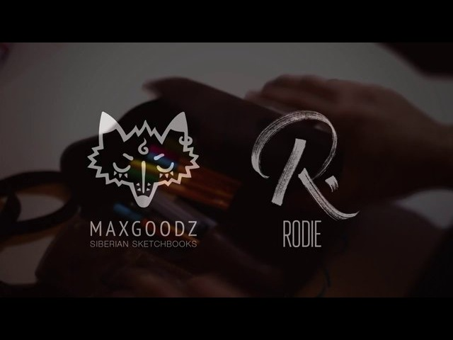 Maxgoodz Sketchbooks Rodie Abstract Edition