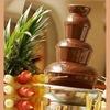 Шоколадный фонтан на свадьбу. Аренда в Бресте!