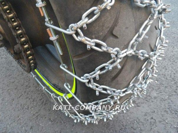 Цепи на колеса для грязи своими руками 198