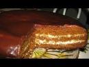 МЕДОВИК бисквитный Шоколадно МЕДОВАЯ ГЛАЗУРЬ Как ровно разделить корж ниткой