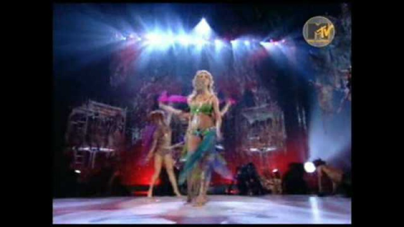 Britney Spears 2001 MTV Video Music Awards