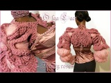 Вязаное болеро Dusty rose от Olga Lace