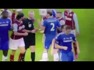 Nemanja Matic could have had his Leg Broken | Lucky Matic | Chelsea vs Burnley