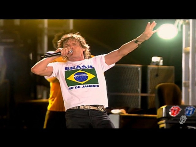 The Rolling Stones - (I Cant Get No) Satsfaction (Live) - OFFICIAL