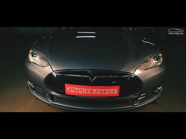 Тест-драйв от Давидыча Tesla Model s85