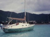 Robin Lee Graham's Sloop Dove at St. Thomas VI