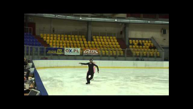 2. Alexandra ZVORYGINA / Maciej BERNADOWSKI (POL) - SD Ice Dance - 3Nat2013
