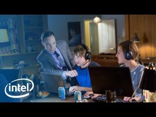 "Jim Parsons talks n00bs with ""Gamers"" | Intel Core i7 Processor"
