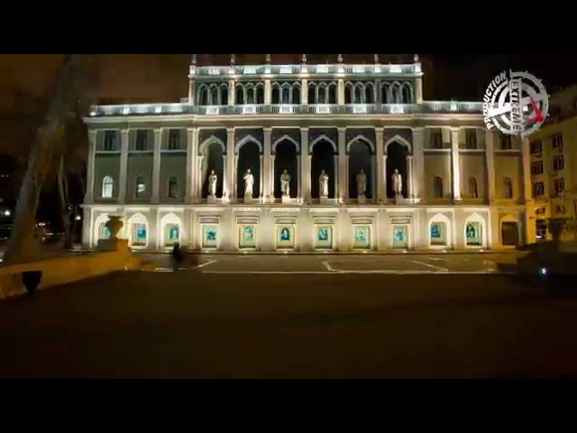 Баку-город огней. Азербайджан.