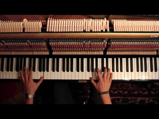 Somnus Nemoris and Ventus Roxas' Theme - Final Fantasy XV Kingdom Hearts Piano Medley (hard)