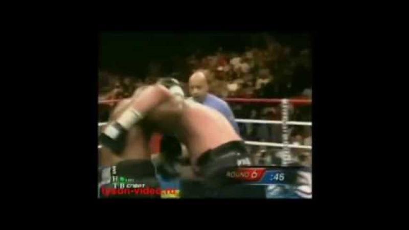 Майк Тайсон Все 6 поражении в профессиональном боксе Iron Mike Tyson All 6 Losses