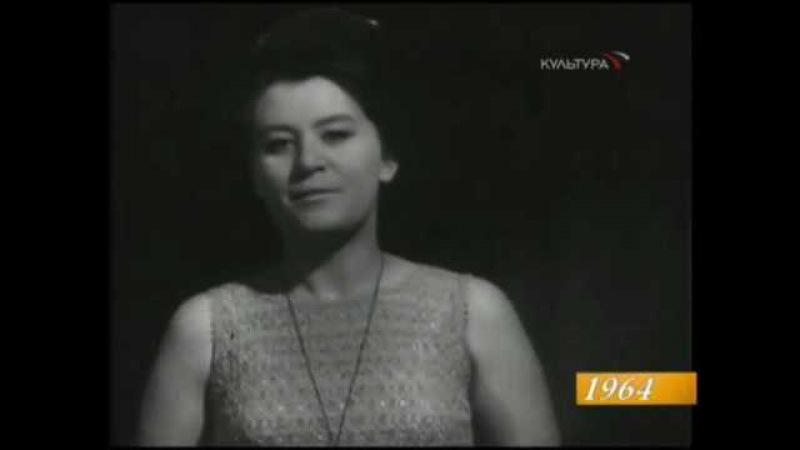 Elena Obraztsova - I Wait For You by Rachmaninov - Davidova