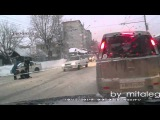 ДТП, сбитый пешеход на ул.Кирова, Новосибирск 10.12.2014