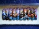 Конкурсы по росписи на ногтях