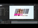 After Effects 2015 Split Slide Mask Tutorial Sliding Intro Presentation