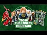 Обзор LEGO Hobbit - The Lonely Mountain (Одинокая Гора) Stop Motion Build Review