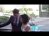 Channing Tatum and Jenna Dewan Tatum arriving at Dizzy Feet Dance Gala @channingtatum @jennaldewan