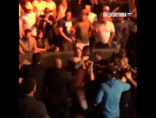 Стычка Хабиба Нурмагомедова и братьев Диас