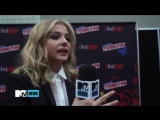 Chloe Grace Moretz - NYC Comic-Con Carrie interview #1