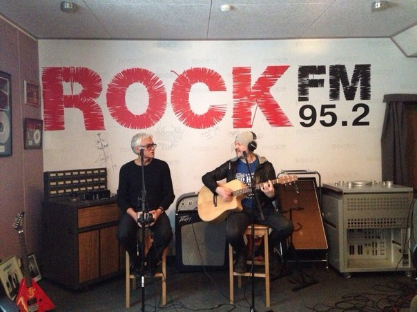 GORKY PARK на Rock FM (04.02.2015)
