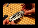 Обслуживание ножа Spyderco Endura 4 ZDP-189