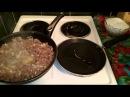 Блины на молоке фаршированные мясом Рецепт как вкусно приготовить классические пошагово ужин видео