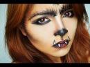 Last Minute Halloween Costume: Werewolf Makeup