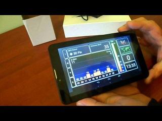 Видео обзор китайский бюджетный  планшет  Laude Talk7