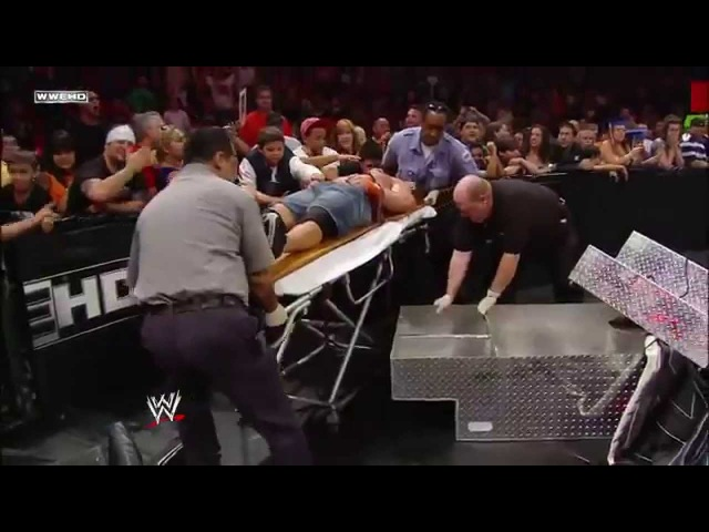 The Nexus interrupt the main event and reap destruction Raw, June 7, 2010