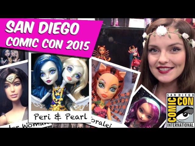 Обзор новинок Comic Con 2015 Peri Pearl Serpentine, Toralei Great Scarrier Reef, Barbie SDCC