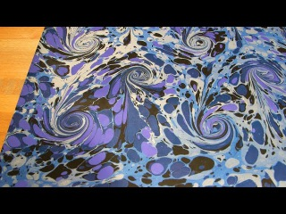 The Art of Marbling | Crafting a beautiful book