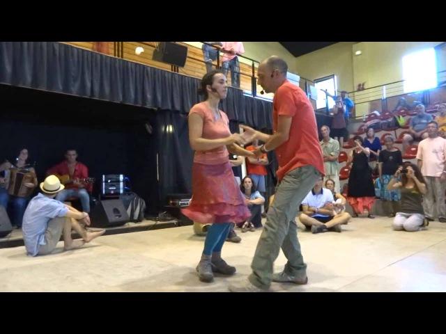 Le Bal de l'Ephémère - Atelier Variantes de Scottish à Saint Gervais 2014