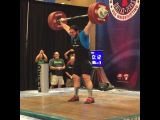 "MuscleDriver USA on Instagram: ""Team MDUSA member @thedragonwilkes Caine Wilkes with a 186kg final snatch! #TeamMDUSA #MDUSA #USAWeightlifting #USAW #USAWNC #Snatch…"""