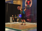 "MuscleDriver USA on Instagram: ""Team MDUSA member @thedragonwilkes Caine Wilkes makes his opener for a Gold medal at 174kg! #TeamMDUSA #MDUSA #USAWeightlifting #USAW…"""