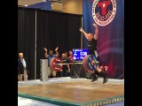 """MuscleDriver USA on Instagram: """"Team MDUSA member @jaredf94 just broke the American Record with a 170kg Snatch as a 94kg lifter!  Awesome job Jared! #TeamMDUSA #MDUSA…"""""""