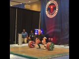 """MuscleDriver USA on Instagram: """"Team MDUSA member @jaredf94 with a good second Clean and Jerk at 197kg! They are putting a show on here at the 94kg A session. #TeamMDUSA…"""""""