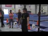 Chad Vaughn (High Hang Clean Exercises) @ Power Monkey Camp 3