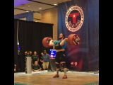 """MuscleDriver USA on Instagram: """"Team MDUSA member @thedragonwilkes Caine Wiles just had an epic end to a National Championship! Caine just hit a 230kg/502lb Clean and Jerk…"""""""