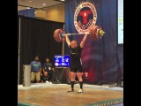 "MuscleDriver USA on Instagram: ""Team MDUSA member @jaredf94 Jared Fleming's opening lift at 193kg is good. #MDUSA #TeamMDUSA #USAWeightlifting #USAW #USAWNC #94kgLifter…"""