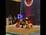 "MuscleDriver USA on Instagram: ""Team MDUSA member @jaredf94 Jared Fleming with a good opening lift at 162kg. #TeamMDUSA #MDUSA #USAW #USAWeightlifting #USAWNC #94kgLifter…"""