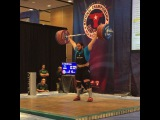 """MuscleDriver USA on Instagram: """"Team MDUSA member @thedragonwilkes CAine Wilkes with a great opening Clean and Jerk at 215kg for Gold! #TeamMDUSA #MDUSA #USAWeightlifting…"""""""