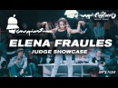 Fraules Judge Showcase. Inspiration Dance Fest