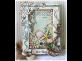 Mixed Media Cottage Canvas Tutorial