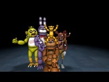 [SFM FNAF] Let's Pose - Family Picture (Classic Animatronics)