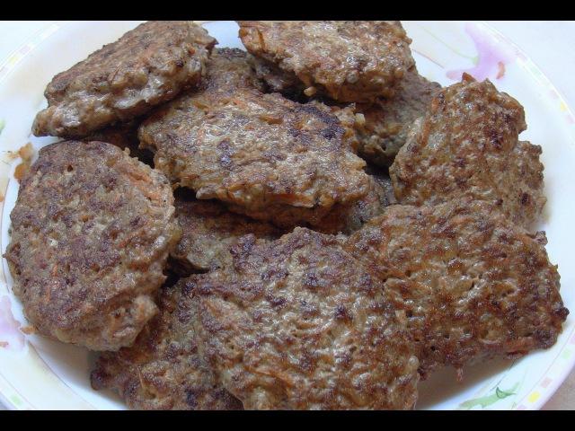 Печёночные котлеты / liver cutlets