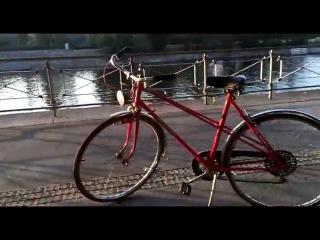 Red Retro Bike [Vintage Bike's & City Tours] Prague Rental Czech Republic