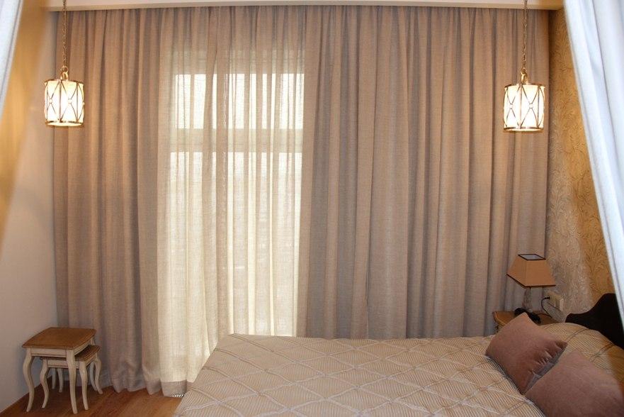 #Curtins #fabrics #Les_Stores  Проект пошива штор Оформление квартиры в ЖК