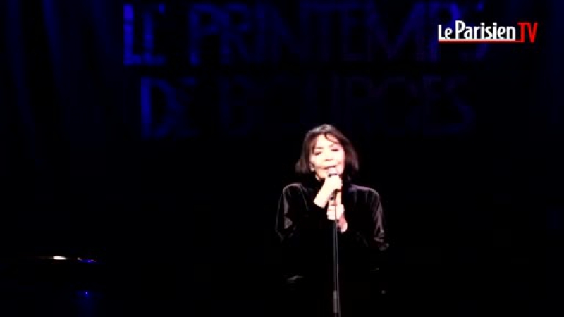 Жюльетт Греко - один из последних концертов. 24.04.2015 Juliette Greco