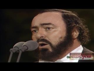 PUCCINI- Nessun dorma - Luciano Pavarotti duet with Jonas Kaufmann