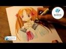 Рисуем манга с помощью Letraset Promarkers